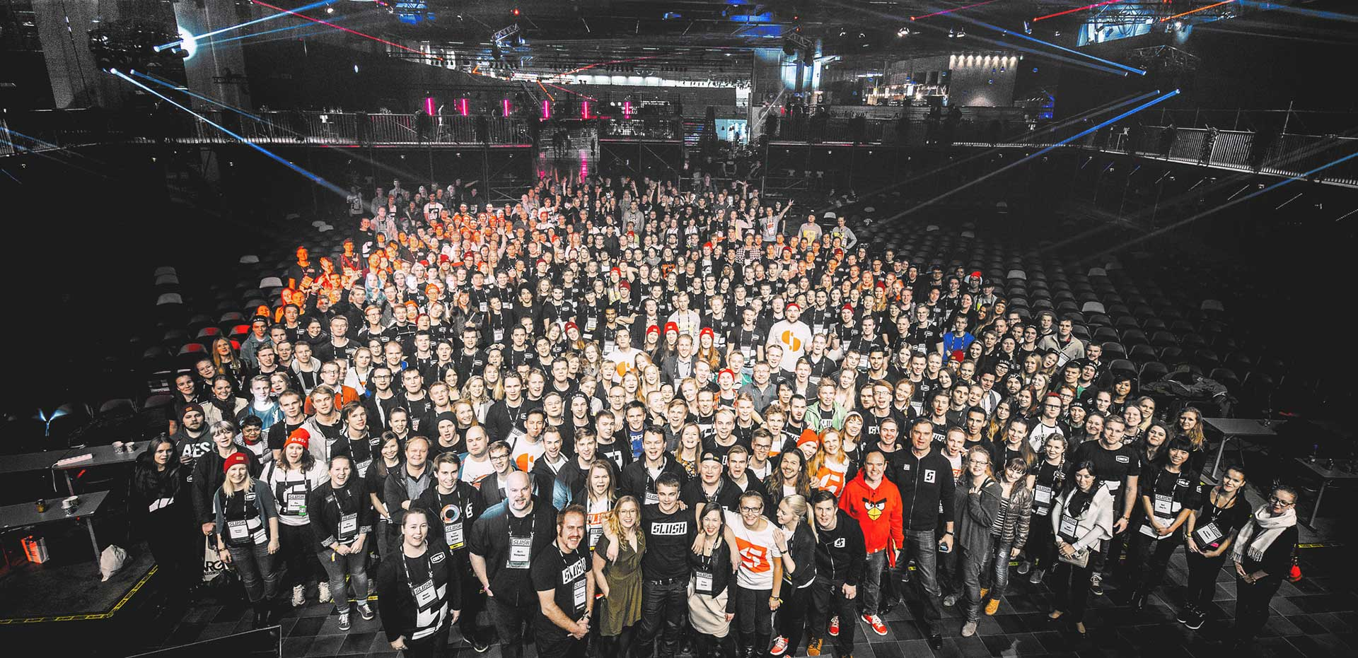 Image result for slush 2016 volunteer
